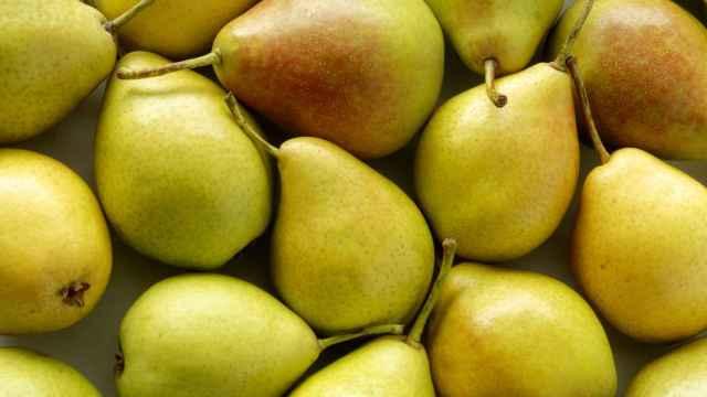 Un puñado de peras.