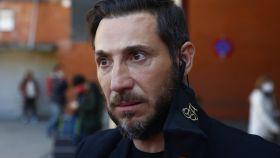 Antonio David Flores en la estación de Atocha hace unos días.