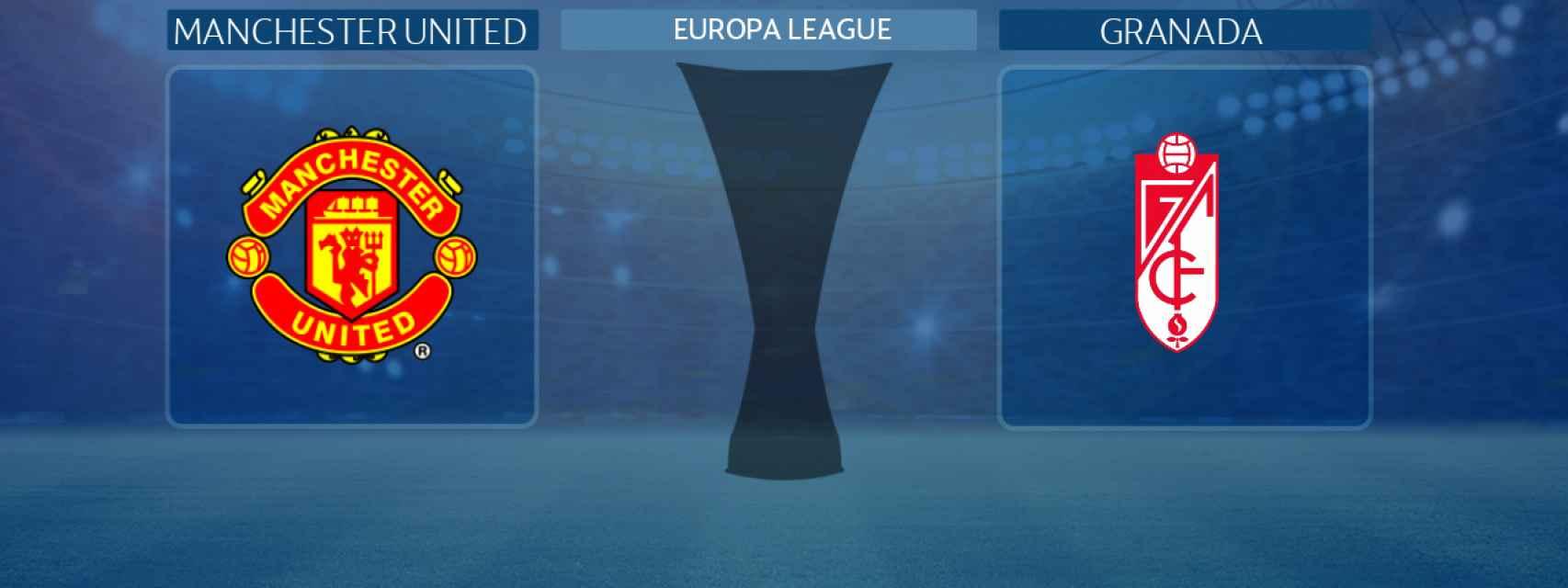Manchester United - Granada, partido de la Europa League