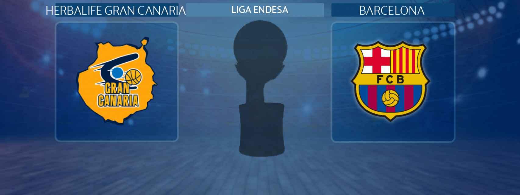 Herbalife Gran Canaria - Barcelona, partido de la Liga Endesa
