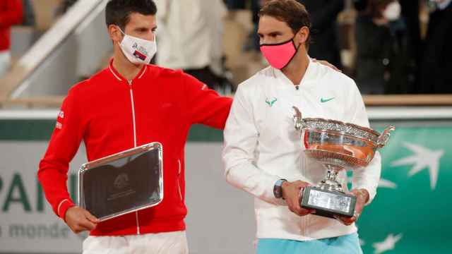 Novak Djokovic y Rafa Nadal en la última edición de Roland Garros