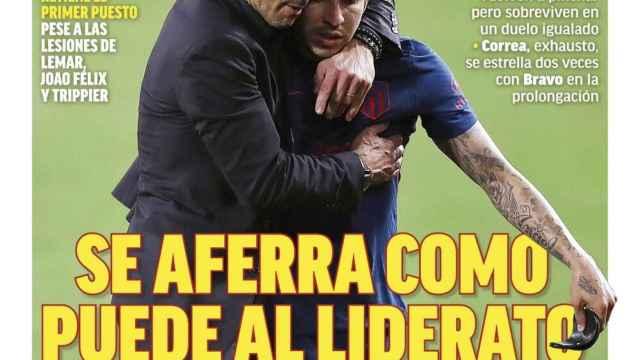 La portada del diario MARCA (12/04/2021)