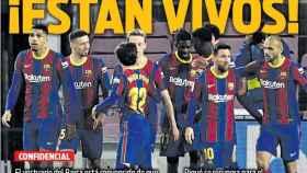 La portada del diario SPORT (12/04/2021)