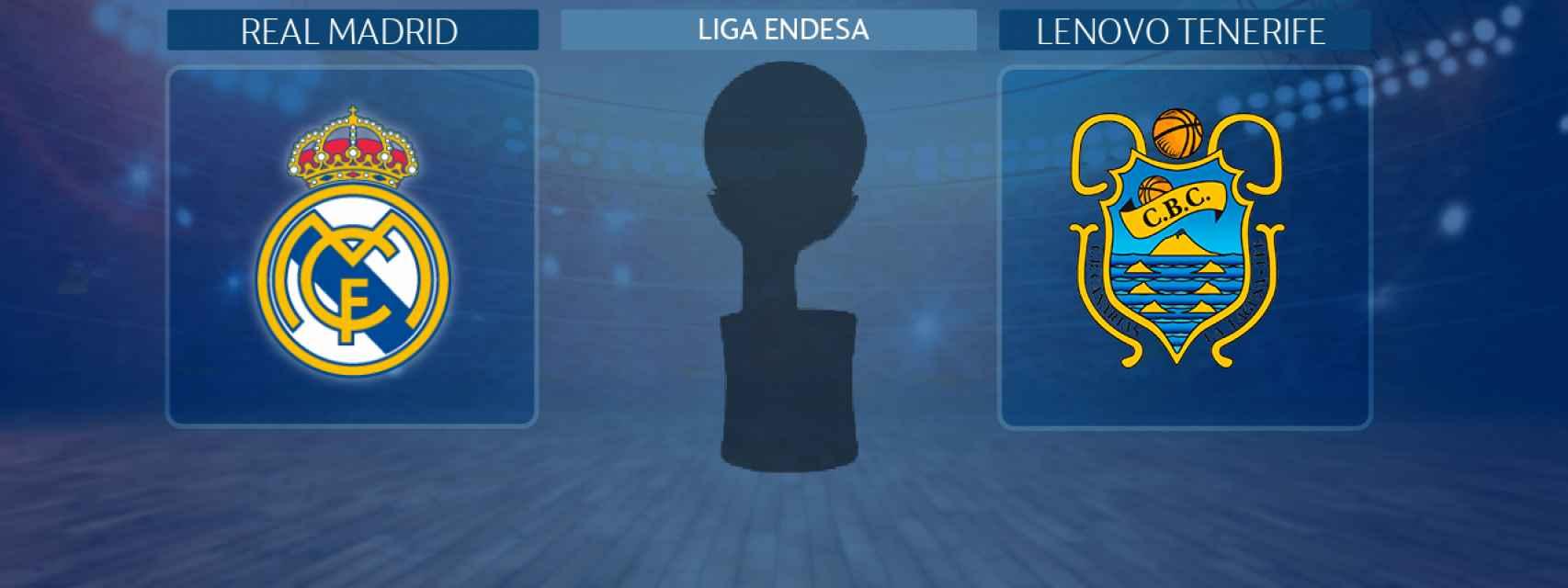 Real Madrid - Lenovo Tenerife, partido de la Liga Endesa