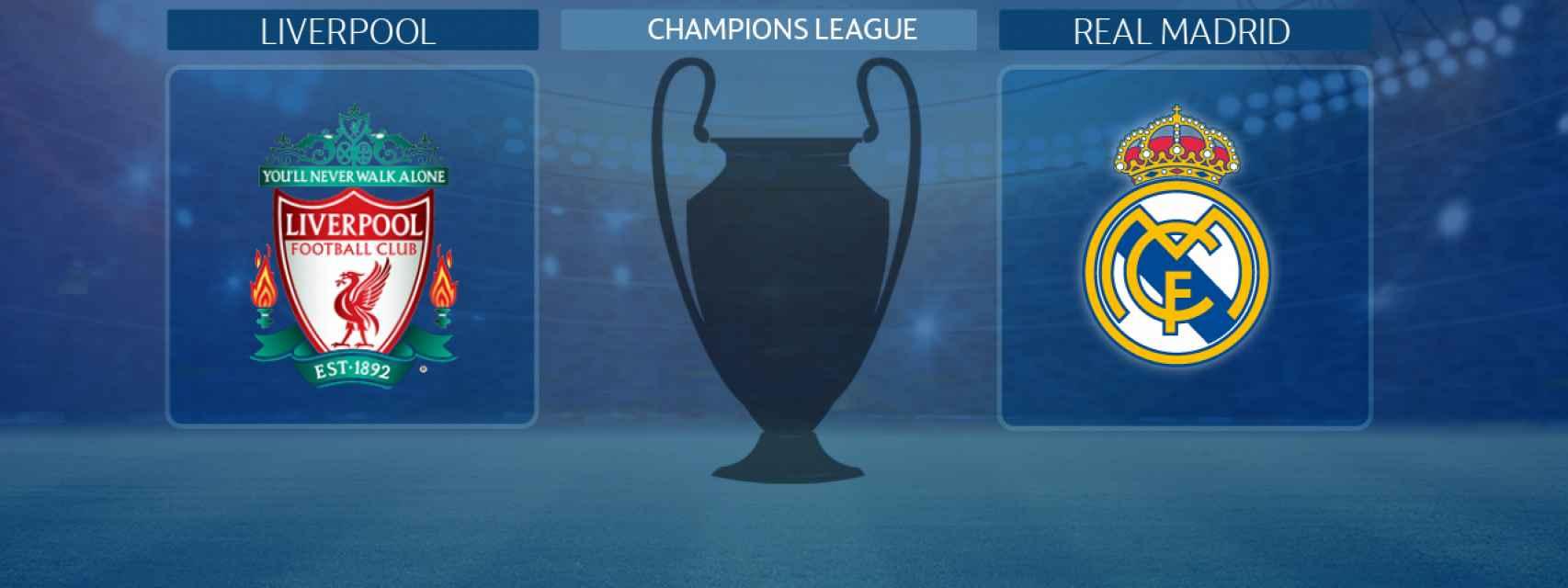 Liverpool - Real Madrid, partido de la Champions League