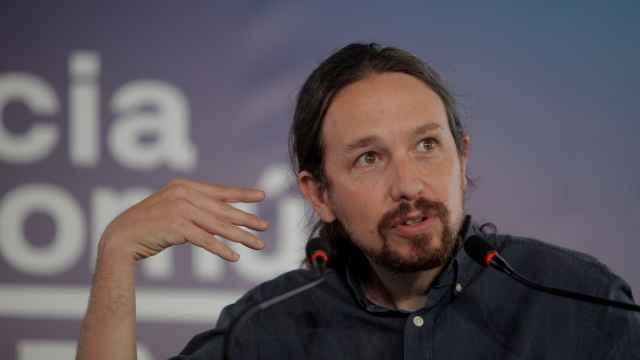 Pablo Iglesias, candidato de Unidas Podemos a la Comunidad de Madrid.