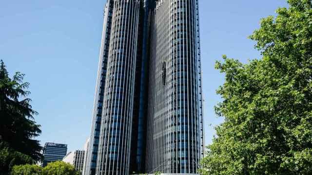 Imagen de la Torre Europa, en la que se encuentra la sede de Alvarez & Marsal en Madrid.