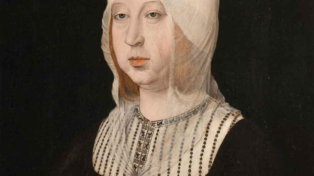 Retrato de Isabel la Católica atribuido a Juan de Flandes. Hacia 1500-1504.