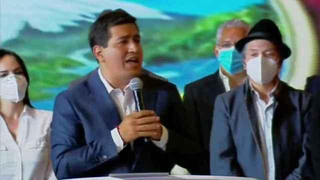 Andrés Arauz admite triunfo de Guillermo Lasso en las elecciones de Ecuador