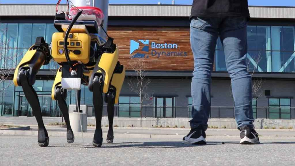 Spot, el perro de Boston Dynamics