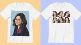 Dos camisetas de venta en la tienda online de Ayushop.