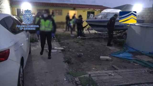 La operación contra el tráfico de inmigrantes que deja 20 detenidos