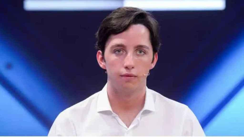 'El pequeño Nicolás' en un plató de Telecinco.