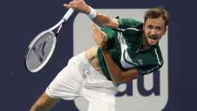 Daniil Medvedev, durante un torneo esta temporada