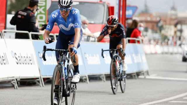 Enric Mas, en la Vuelta al País Vasco de 2021