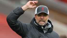 Jurgen Klopp, durante un partido del Liverpool