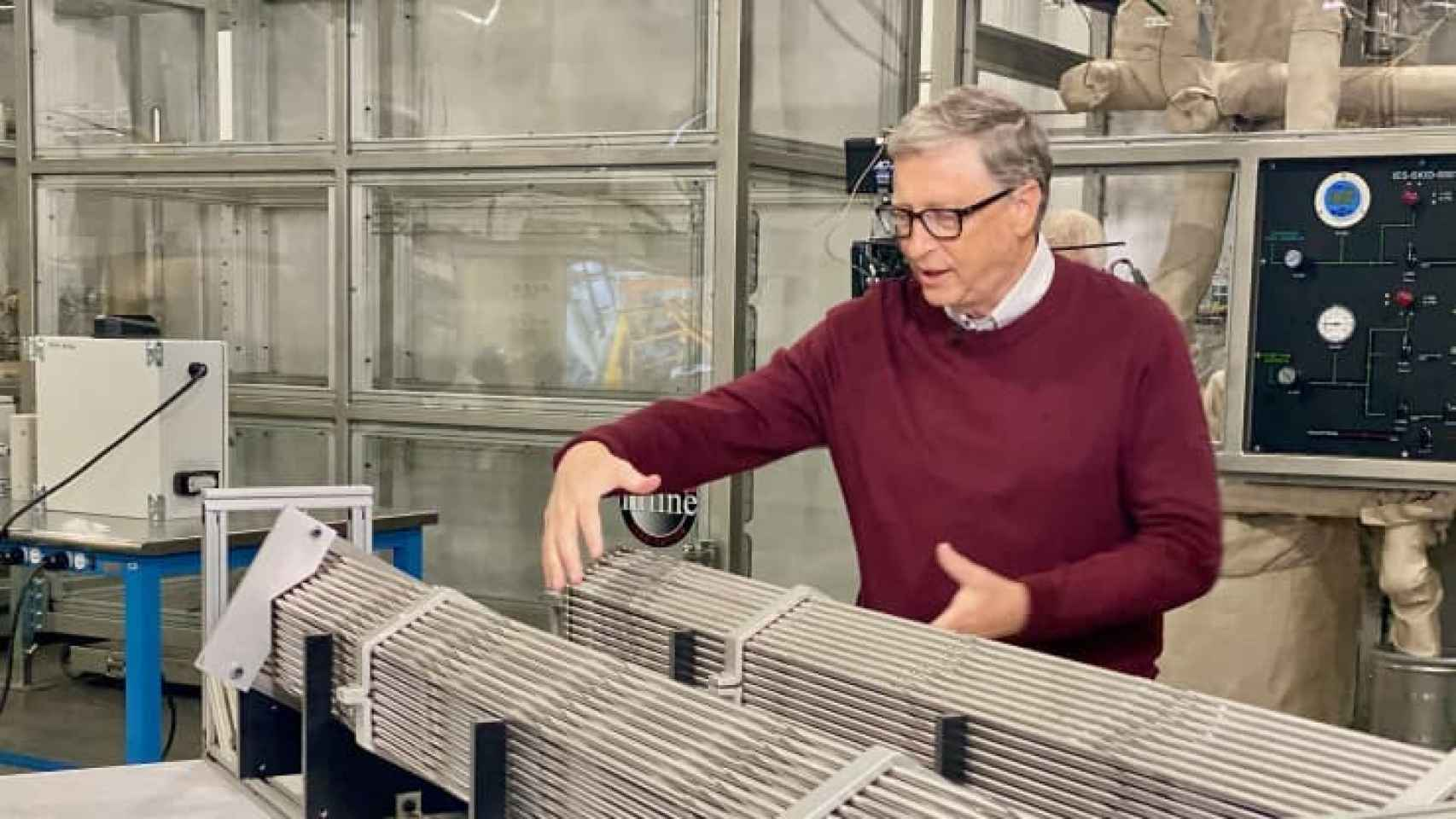 El empresario Bill Gates