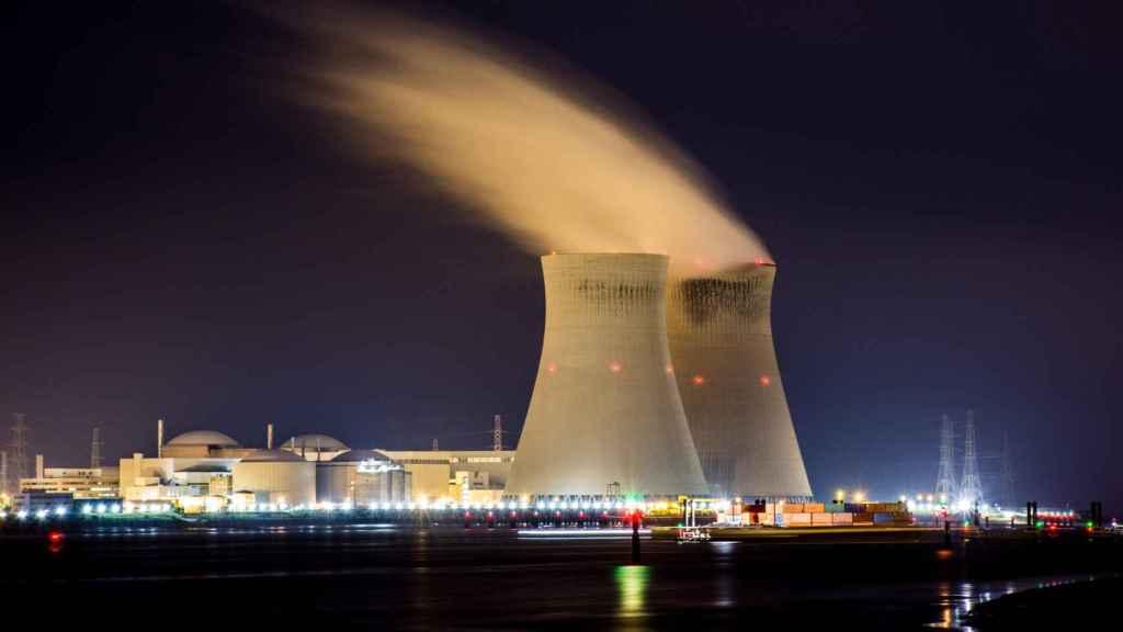 Torres refrigeración de central nuclear