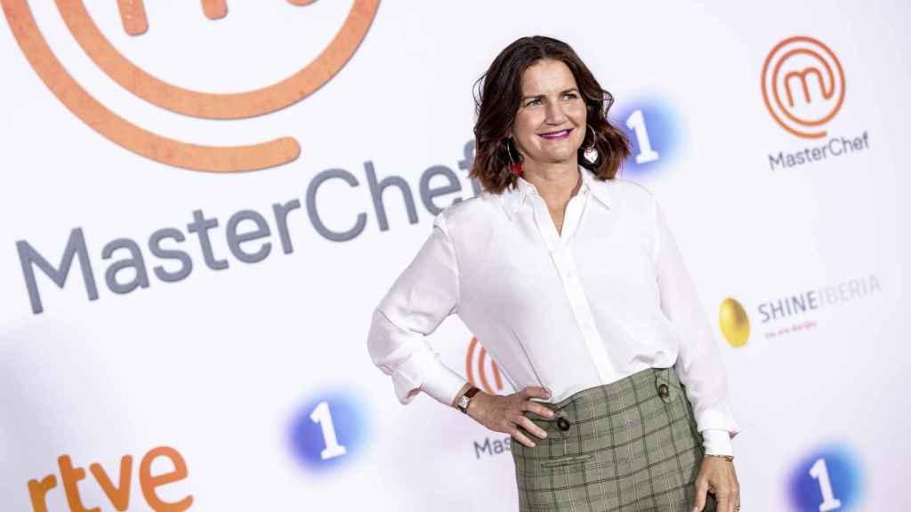 Samantha Vallejo-Nágera en la presentación de la nueva edición de 'MasterChef'.