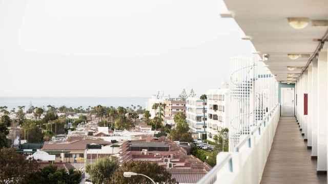 El Hotel Playa del Sol, en Gran Canaria.