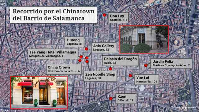 Con las aperturas en los últimos años, el barrio de Salamanca se ha convertido en una peculliar Chinatown de lujo en Madrid.