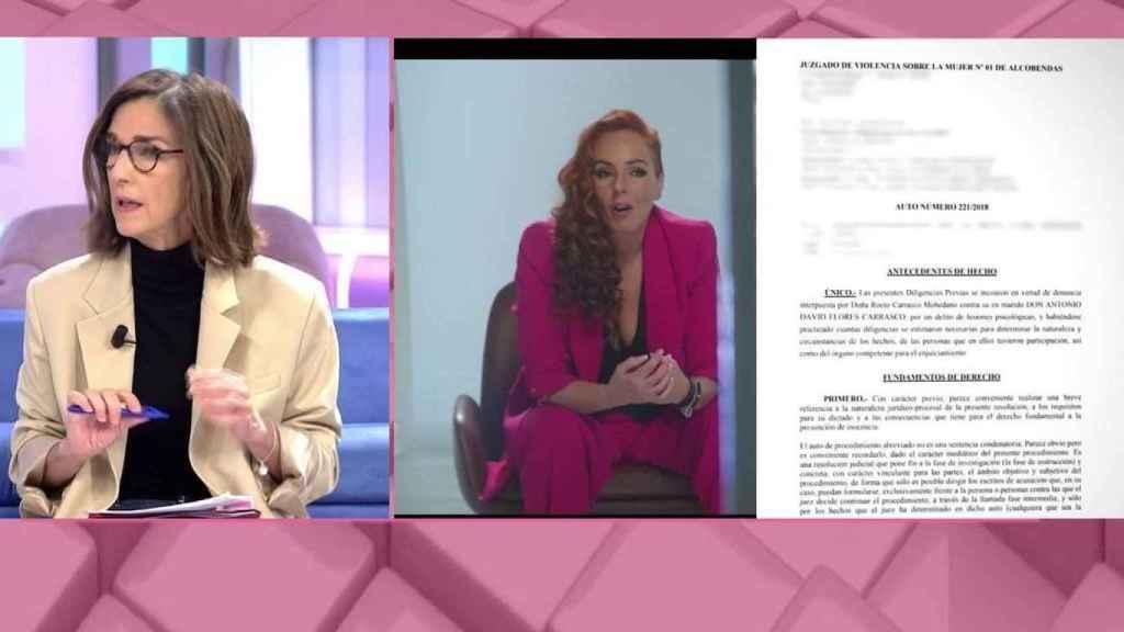 'El programa de Ana Rosa' cuestiona el intento de suicidio de Rocío Carrasco y García Pelayo pide rigor