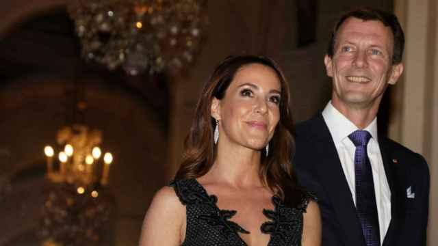 Joaquín y Marie de Dinamarca, durante un evento en París en 2019.