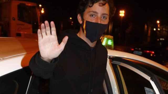 Francisco Nicolás en una imagen reciente mientras atendía a la prensa.