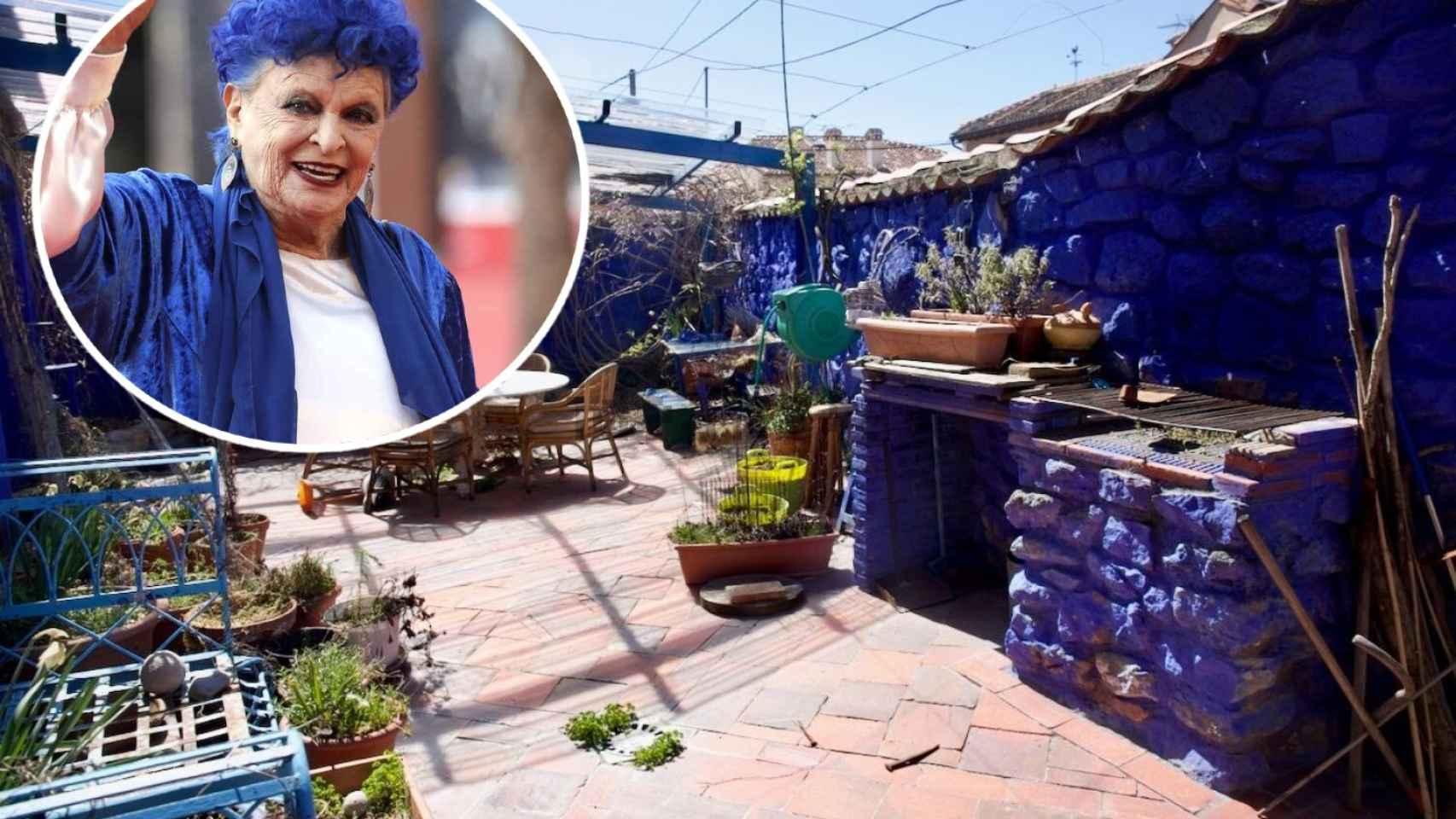 La 'casa azul' de Lucía Bosé en Brieva, a la venta: su familia pide por ella por casi medio millón de euros