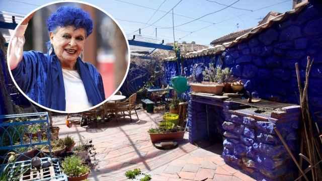 La 'casa azul' de Lucía Bosé en Brieva, a la venta: su familia pide por ella casi medio millón de euros