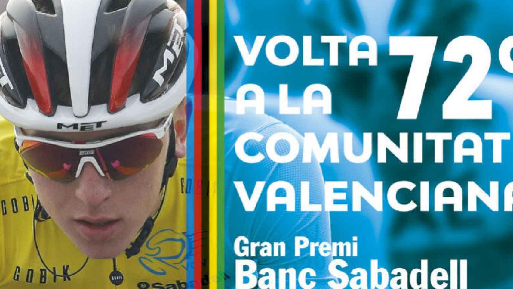El cartel de la Vuelta a la Comunitat Valenciana 2021