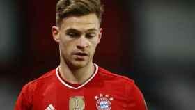 Joshua Kimmich, en un partido del Bayern Múnich en la temporada 2020/2021