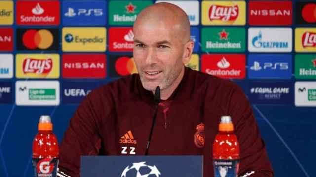 En directo la rueda de prensa de Zidane y Modric previa al Liverpool - Real Madrid de la Champions