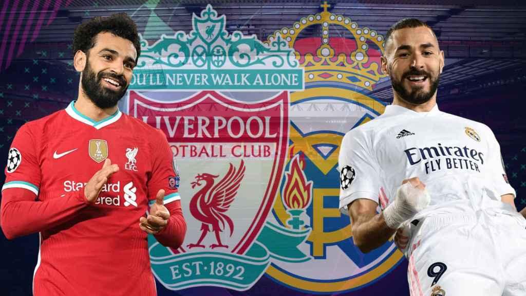 Previa Liverpool - Real Madrid