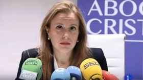 Polonia Castellanos, presidenta de la Asociación de Abogados Cristianos