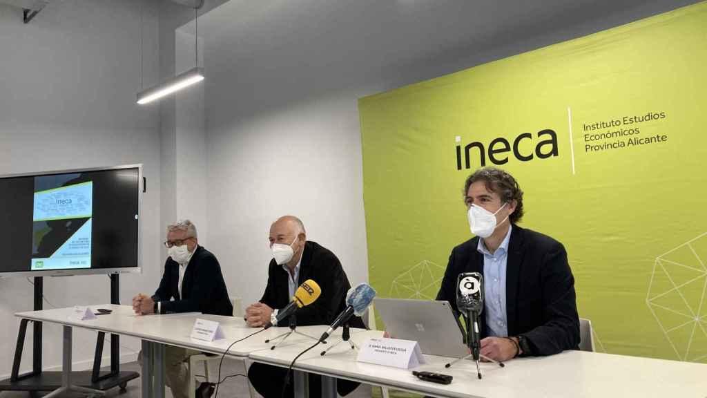 Presentación del informe de Ineca.