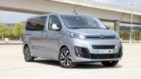 Versión probada del Citroën ë-SpaceTourer en los alrededores de Madrid.