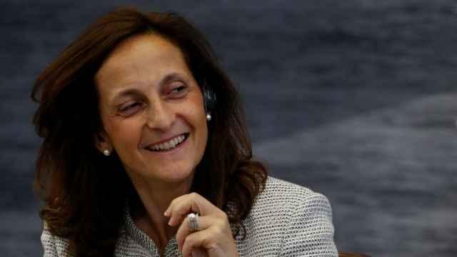 Alessandra Galloni, en una imagen de archivo, durante un evento en Rusia.