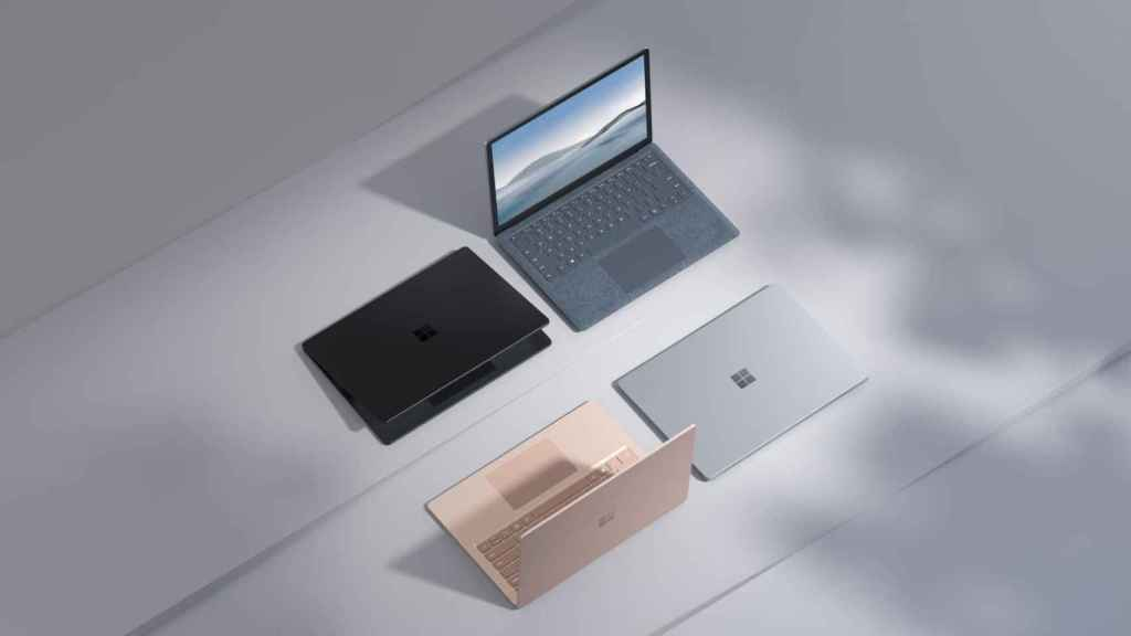 Nueva gama Surface Laptop 4