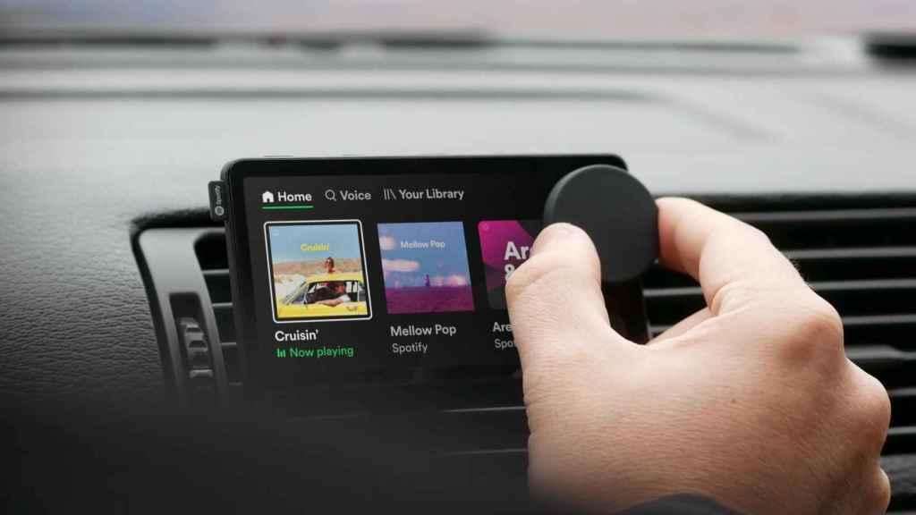 Spotify anuncia Car Thing, su primer gadget es un reproductor para el coche