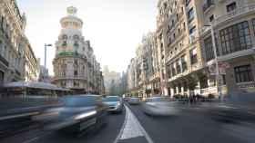 Gran Vía, en Madrid.