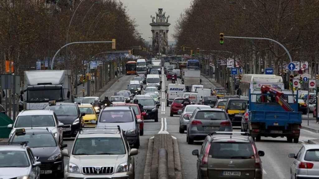Las multas por sobrepasar los límites de velocidad en ciudades.