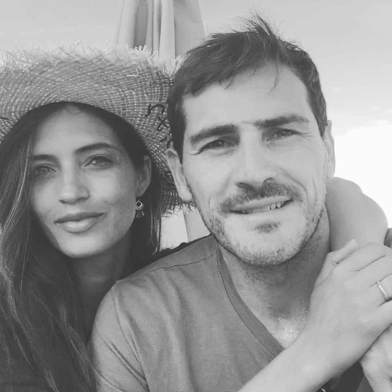 La imagen con la que Iker y Sara acompañaron a su comunicado de separación.