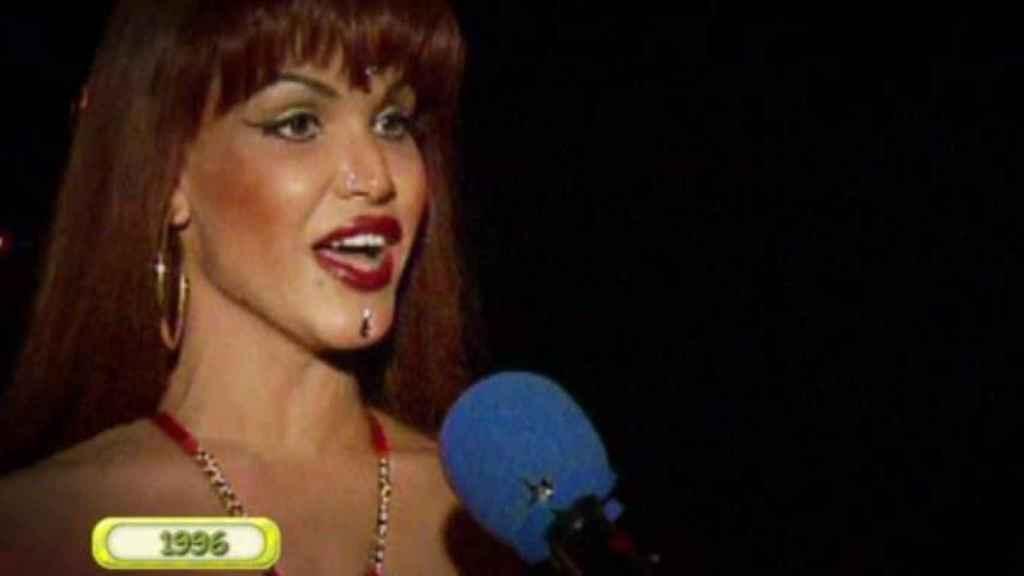 El 15 de abril de 1996, Cristina la Veneno apareció por primera vez en televisión.