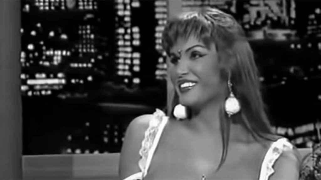 Primera vez de Cristina la Veneno en el 'Mississippi', el programa que le dio la fama y donde después trabajaría como colaboradora.