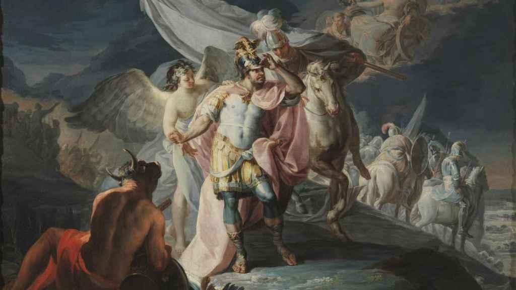 'Aníbal vencedor que por primera vez mira a Italia desde los Alpes', de Francisco de Goya.