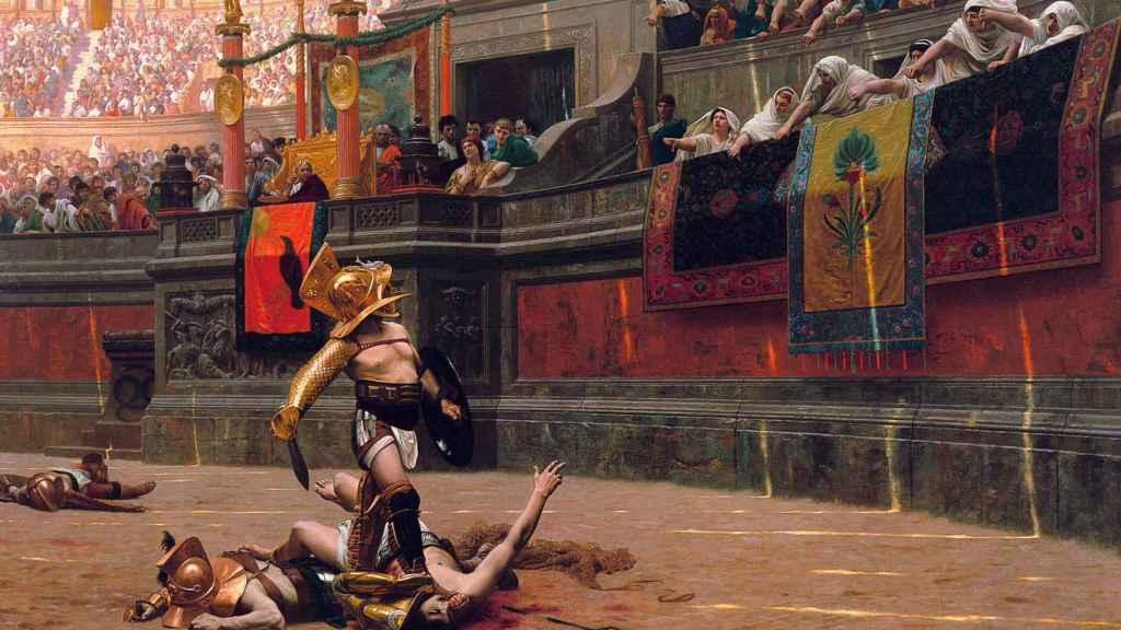 Espectáculo romano ofrecido por Cómodo.