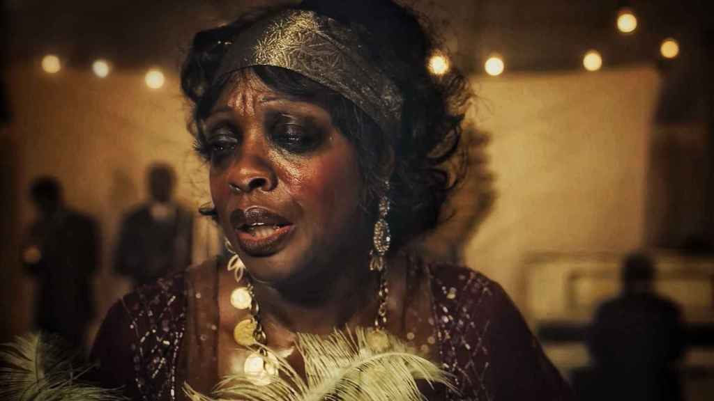 Viola Davis, caracterizada en 'La madre del blues'.