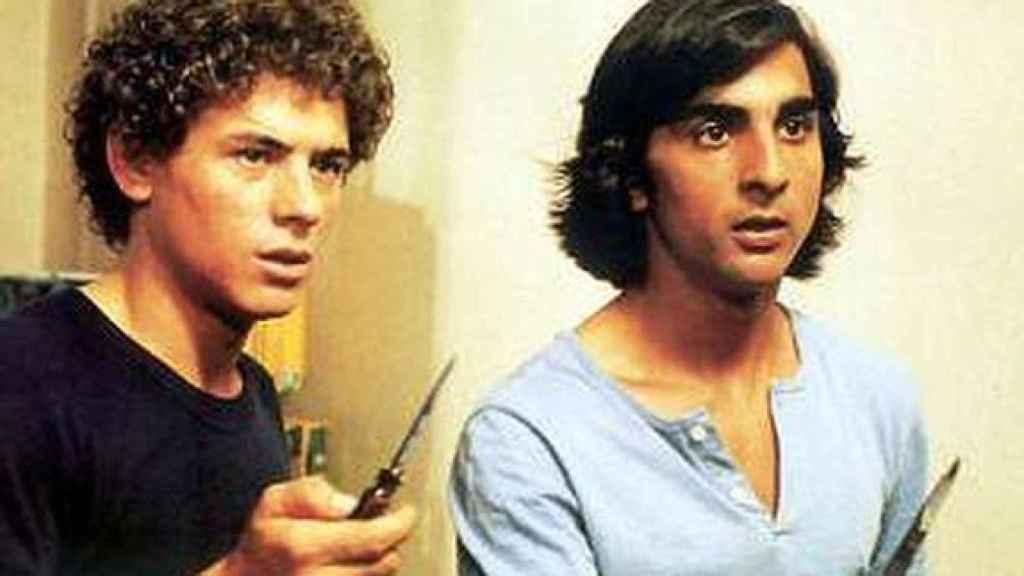 Manzano y Antonio Flores en Colegas.