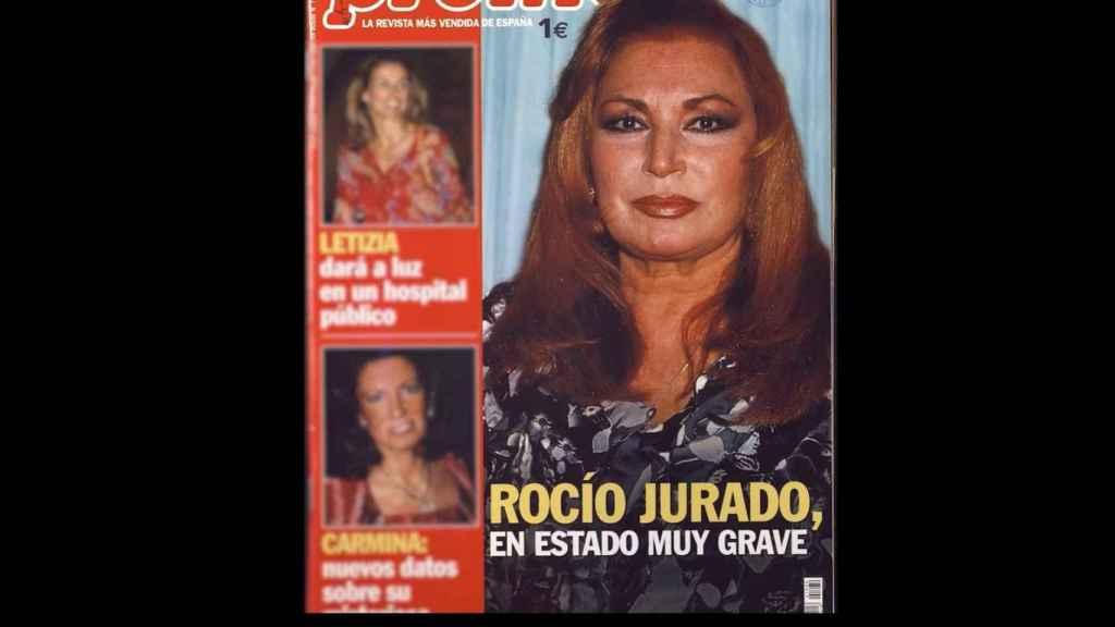 Las portadas hablando sobre el estado grave de Jurado.